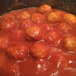 Nana's Sweet & Sour Meatballs